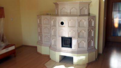 Zrekonštruovaná kachľová pec